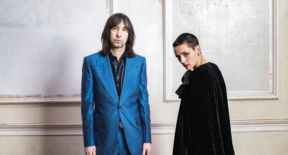 'CHASE IT DOWN'  Bobby Gillespie y Jehnny Beth